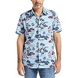 Pioneer Shirt all Over Print Camicia Casual Uomo