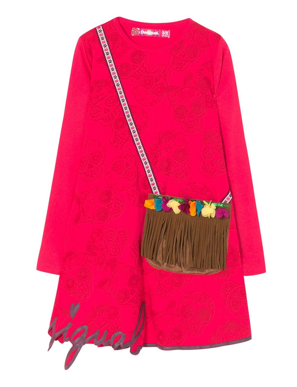 Desigual Vest_adís Abeba Vestido para Niñas