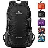 POKARLA 22/35/40L Lightweight Packable Backpack Hiking Daypack Walking Rucksack Foldable Camping Sports Outdoor Knapsack for