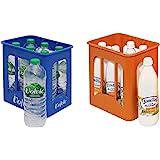 Tanner 0072.6 - Getränke Set bestehend aus Volvic Kiste und Landliebe Milchkiste mit 6 Flaschen