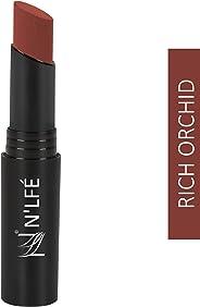 NELF Powder Matte Lipstick, Rich Orchid, 3 g