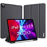 """A-BEAUTY Smart Case for iPad Pro 12.9"""" (4th Generation) 2020 with [Pencil Holder] Lightweight Stand Cover with Auto Sleep/Wak"""