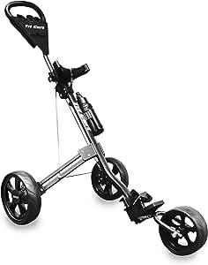 LONGRIDGE 2019 Golf Tri Cart 3 Roues Pousser/Tirer Le Chariot De Golf