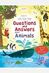 Lift the Flap Questions & Answers about Animals (Lift the Flap Questions and Answers) Hardcover