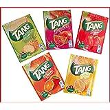 TANG 25 zakken S = 25 liter. sinaasappel, citroen, tropical, aardbeien, ananas