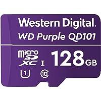 Western Digital WD Purple 128GB Surveillance and Security Camera Memory Card for CCTV & WiFi Cameras (WDD0128G1P0C)