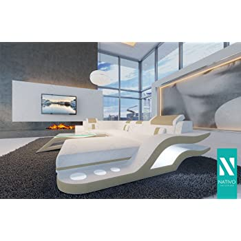 Nativo Canape Design Hermes Corner Avec Eclairage Led Canape D Angle