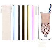 Acier Inoxydable, Idéal Paille Bubble Tea Pour Smoothie, Bubble Tea, Milk-shakes