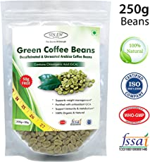Sinew Nutrition Green Coffee Beans for Weight Management - 200 g + 50 g Free