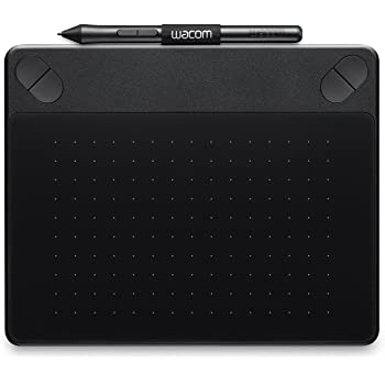 Wacom Intuos Photo Pen Tablet in Black (Size: S)/Small Graphic Tablet Including Macphun Creative Kit, Corel PaintShop and AfterShot Software Download and Wacom Intuos Pen/Compatible with Windows and Apple