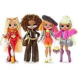 L.O.L. Surprise! 422020 O.M.G. 4-pak, cztery O.M.G. Fashion Dolls serii 1 w zestawie, z ubraniami i wieloma akcesoriami, łącz