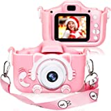 Kids Digital Camera for Girls and Boys, Kids Children Selfie Photo Video Camera Camcorder with 32 or 16GB SD Card, Gifts for