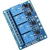 Elegoo 4 Channel DC 5V Modulo Relay con Accoppiatore Ottico per Uno R3 Mega 2560 1280 DSP Arm PIC AVR STM32 Raspberry Pi
