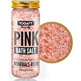YOGAFY - Minerals Rich Himalayan Pink Bath Salt Crystal - For Body Spa,Relaxation and Pain Relief |350g