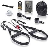FITINDEX Kit de entrenamiento de resistencia corporal,Correas ...