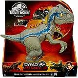 Jurassic World Baby Blue Dino Velociraptor, dinosaurio de juguete (Mattel GFD40)