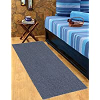 Heart Home Rubber 1 Piece Bed Side Runner 24x36'' (Grey) CTHH0950