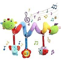 BelleStyle Bambino Passeggino Giocattoli, Spirale Passeggino Spirale di attività per Passeggino, Giocattoli da Appendere…