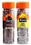 Kery Aam Papad Mango Slice & Chatpata Khajoor, 2 Bottles, 270g [Pachak Mukhwas Mouthfreshener]