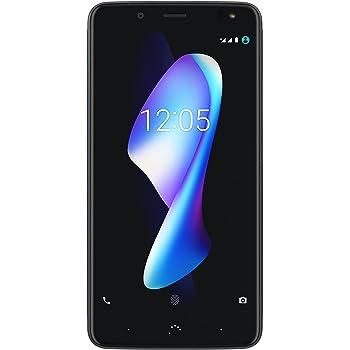 """BQ Aquaris V Plus - Smartphone DE 5.5"""" (WiFi, 3 GB de RAM, 32 GB de Memoria Interna, Bluetooth 4.2, cámara DE 12 MP Big Pixel, Dual Nano-SIM, Android 7.1.2 Nougat), Deep Black"""