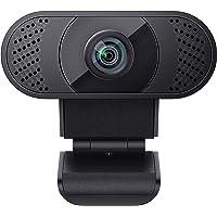 wansview Webcam 1080P mit Mikrofon, Webcam USB 2.0 Plug & Play für Laptop, Computer, PC, Desktop, mit automatischer…