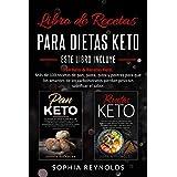 Libro de recetas para dietas keto.: Pan Keto & Recetas Keto. Más de 100 recetas de pan, pasta, pizza y postres para que los a