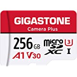 Gigastone Tarjeta Micro SD 256 GB, Camera Plus, Aplicación de ejecución A1 para teléfono Inteligente, Compatible con Nintendo