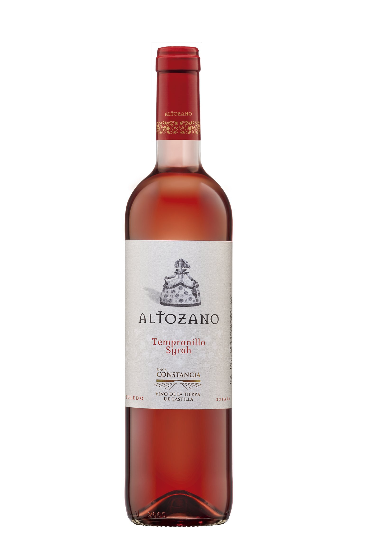 Altozano Tempranillo Syrah - Vino V.T. Castilla - 6 Paquetes de 750 ml - Total: 4500 ml