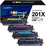 GPC Image Compatibili Cartucce di Toner Sostituzione per HP 201A 201X per Color LaserJet Pro MFP M277dw M277n M277c6 M252dw M