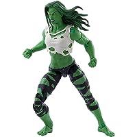 Hasbro Marvel Legends Series Avengers 15 cm große She-Hulk Figur und 3 Accessoires für Kinder ab 4 Jahren