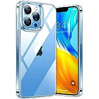 TORRAS Diamond Series Kompatibel mit iPhone 13 Pro Max Hülle Transparent (Vergilbungsfrei) Stoßfeste Kratzfest Case Hard…