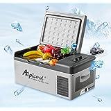 Alpicool - Nevera congelador portátil eléctrica con compresor para automóviles, camiones y caravanas, ideal para ir de viaje,