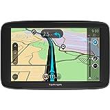 TomTom GPS para coche Start 62, 6 pulgadas, mapas de la UE, prueba gratuita de alerta de radares, soporte reversible integrad