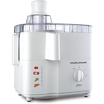 Morphy Richards Max 450-Watt Juice Extractor (White)