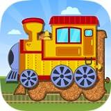 Züge, Flugzeuge und Schiffe - Puzzle für Kleinkinder