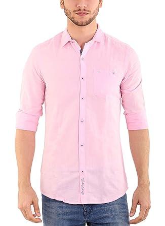 SHADE 45 Men's Premium designed Cotton Full Sleeve Slim fit Light ...