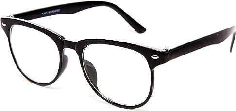 THEWHOOP Rectangular Wayfarer Eyeglass for Men and Women -(005904|54|Black)