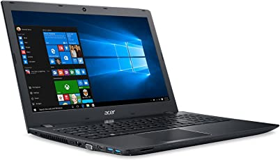 (CERTIFIED REFURBISHED) Acer E5-553 15.6-inch Laptop (AMD A10-9600P/4GB/1TB/Windows 10 Home/Integrated Graphics), Black