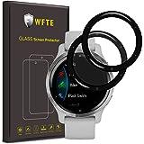 WFTE [2-Pack Screen Protector voor Garmin Venu 2S 40mm, Anti-kras, hoge transparantie, anti-vingerafdruk, bubbelvrij, stofvri