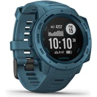Garmin Instinct - waterproof GPS smartwatch with sports / fitness functions and up to 14 ...
