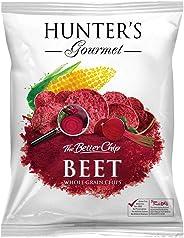 Hunter's Gourmet Whole Grain Corn Chips - Beet - 50gm
