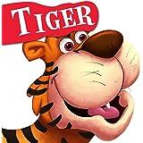 Cutout Board Book: Tiger( Animals and Birds) (Cutout Books)