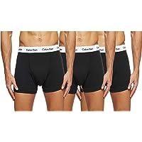 Calvin Klein Cotton Stretch 3 Pack Trunk, Black