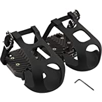 CyclingDeal Compatible with Peloton Bike and Bike+ Toe Clips Cage ONLY - Peloton Bike Pedal Adapters -Convert Compatible…