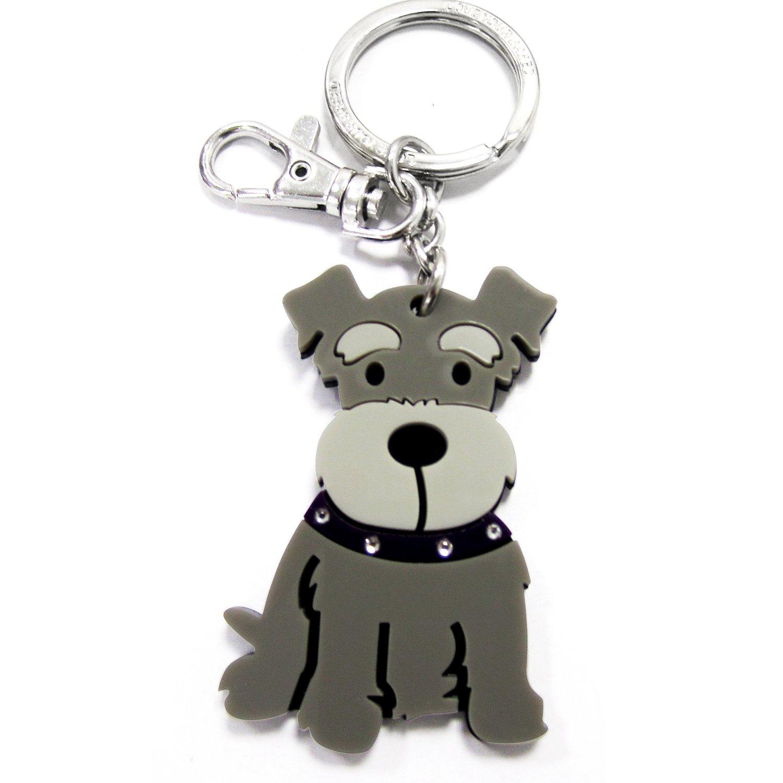 FouFou Dog Keychain Schnauzer