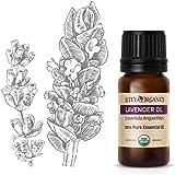 Alteya Organic lavendelolie (Lavandula Angustifolia) 10 ml - 100% USDA gecertificeerde biologische pure natuurlijke lavendel