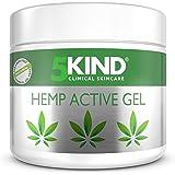 Aktivt smärtlindrande gel av hampa för leder & muskler - Kraftfullt verkande hampaolja med formula rik på naturliga extrakt a