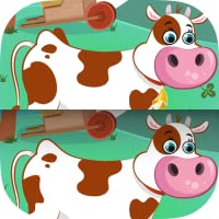 Find the Difference - Farm Animals