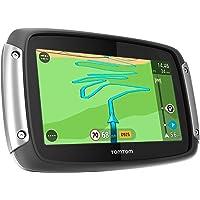 TomTom Rider 400 Premium Pack Motorradnavigationsgerät (10,9 cm (4,3 Zoll) Display, kurvenreiche Strecke, Lifetime…