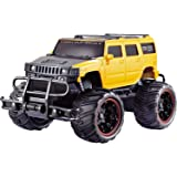 Toyshine 1:20 Hummer Remote Control Monster Car, Yellow
